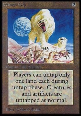 Collectors Ed Intl: Winter Orb (Not Tournament Legal)