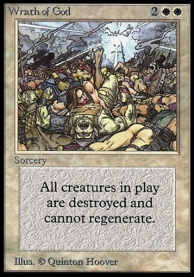 Collectors Ed Intl: Wrath of God (Not Tournament Legal)