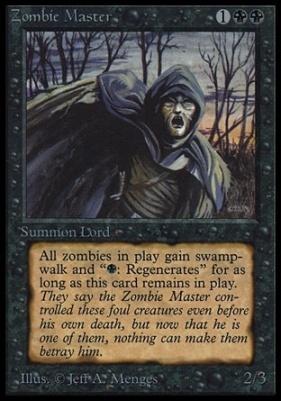 Collectors Ed Intl: Zombie Master (Not Tournament Legal)