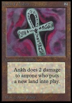 Collectors Ed: Ankh of Mishra (Not Tournament Legal)