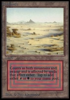 Collectors Ed: Badlands (Not Tournament Legal)