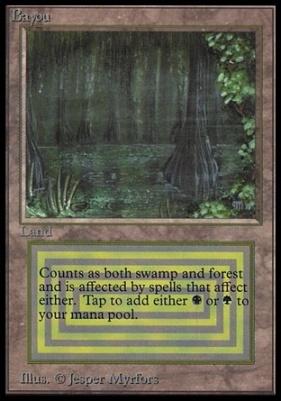 Collectors Ed: Bayou (Not Tournament Legal)