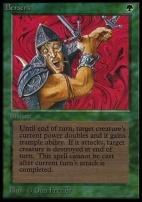 Collectors Ed: Berserk (Not Tournament Legal)
