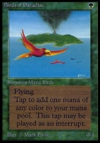 Collectors Ed: Birds of Paradise (Not Tournament Legal)