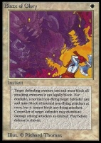 Collectors Ed: Blaze of Glory (Not Tournament Legal)