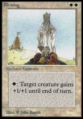 Collectors Ed: Blessing (Not Tournament Legal)