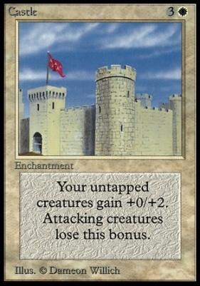 Collectors Ed: Castle (Not Tournament Legal)