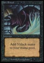 Collectors Ed: Dark Ritual (Not Tournament Legal)