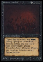 Collectors Ed: Demonic Hordes (Not Tournament Legal)