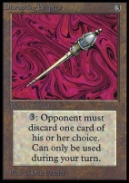 Collectors Ed: Disrupting Scepter (Not Tournament Legal)