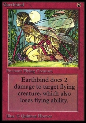 Collectors Ed: Earthbind (Not Tournament Legal)