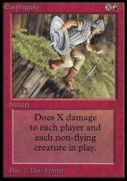 Collectors Ed: Earthquake (Not Tournament Legal)
