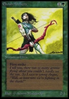 Collectors Ed: Elvish Archers (Not Tournament Legal)
