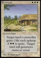 Collectors Ed: Farmstead (Not Tournament Legal)