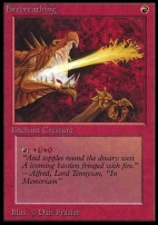 Collectors Ed: Firebreathing (Not Tournament Legal)