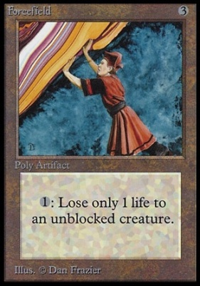 Collectors Ed: Forcefield (Not Tournament Legal)