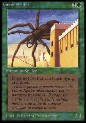Collectors Ed: Giant Spider (Not Tournament Legal)
