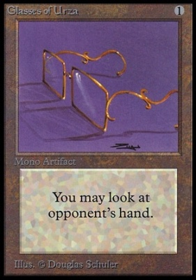 Collectors Ed: Glasses of Urza (Not Tournament Legal)