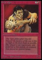 Collectors Ed: Gray Ogre (Not Tournament Legal)