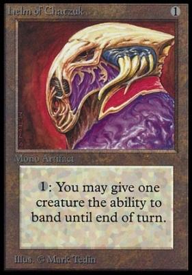 Collectors Ed: Helm of Chatzuk (Not Tournament Legal)