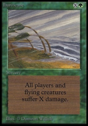 Collectors Ed: Hurricane (Not Tournament Legal)