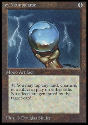 Collectors Ed: Icy Manipulator (Not Tournament Legal)
