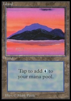 Collectors Ed: Island (C - Not Tournament Legal)