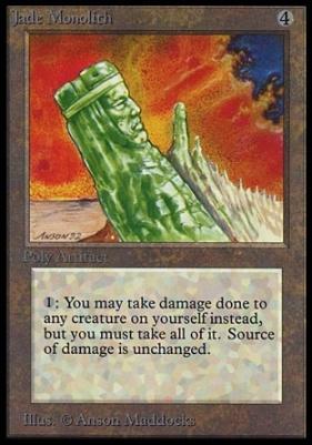 Collectors Ed: Jade Monolith (Not Tournament Legal)
