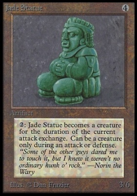 Collectors Ed: Jade Statue (Not Tournament Legal)