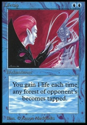 Collectors Ed: Lifetap (Not Tournament Legal)