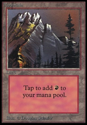 Collectors Ed: Mountain (B - Not Tournament Legal)