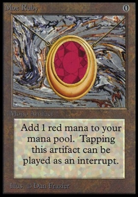 Collectors Ed: Mox Ruby (Not Tournament Legal)