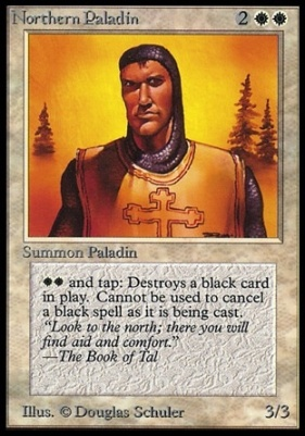Collectors Ed: Northern Paladin (Not Tournament Legal)