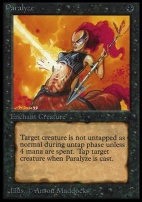 Collectors Ed: Paralyze (Not Tournament Legal)