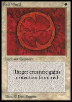 Collectors Ed: Red Ward (Not Tournament Legal)