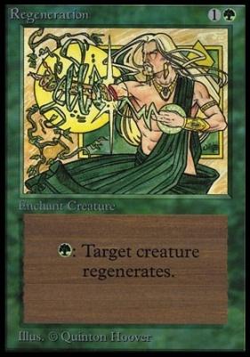 Collectors Ed: Regeneration (Not Tournament Legal)