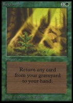 Collectors Ed: Regrowth (Not Tournament Legal)