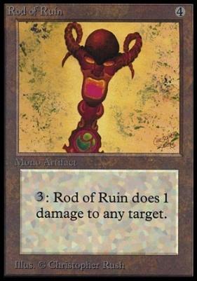 Collectors Ed: Rod of Ruin (Not Tournament Legal)