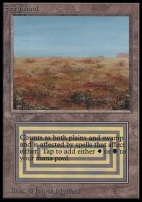 Collectors Ed: Scrubland (Not Tournament Legal)