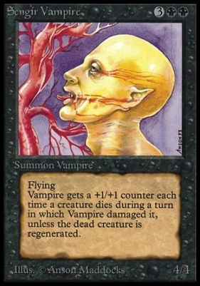 Collectors Ed: Sengir Vampire (Not Tournament Legal)