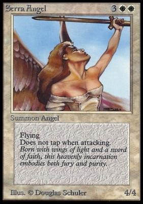 Collectors Ed: Serra Angel (Not Tournament Legal)
