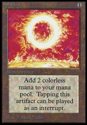 Collectors Ed: Sol Ring (Not Tournament Legal)