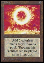 Collectors Ed: Sol Ring (Not Tournament Legal)
