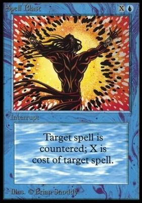 Collectors Ed: Spell Blast (Not Tournament Legal)