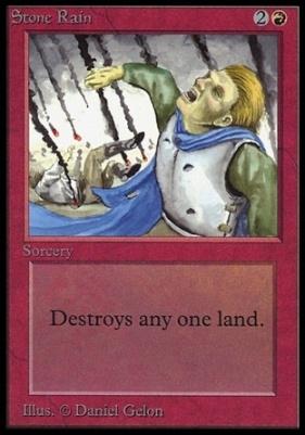 Collectors Ed: Stone Rain (Not Tournament Legal)
