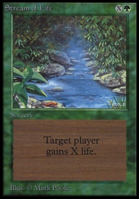 Collectors Ed: Stream of Life (Not Tournament Legal)