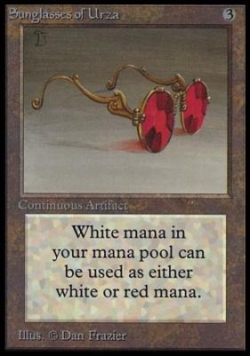 Collectors Ed: Sunglasses of Urza (Not Tournament Legal)