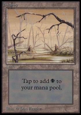 Collectors Ed: Swamp (A - Not Tournament Legal)
