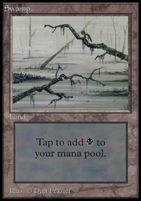 Collectors Ed: Swamp (C - Not Tournament Legal)