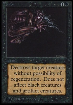 Collectors Ed: Terror (Not Tournament Legal)